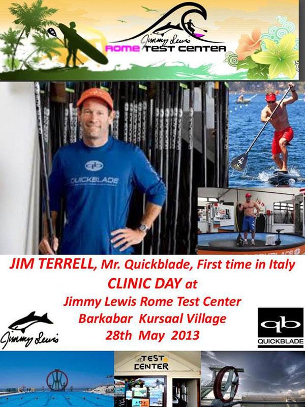 SUP Klinik mit Jim Terrell in Rom