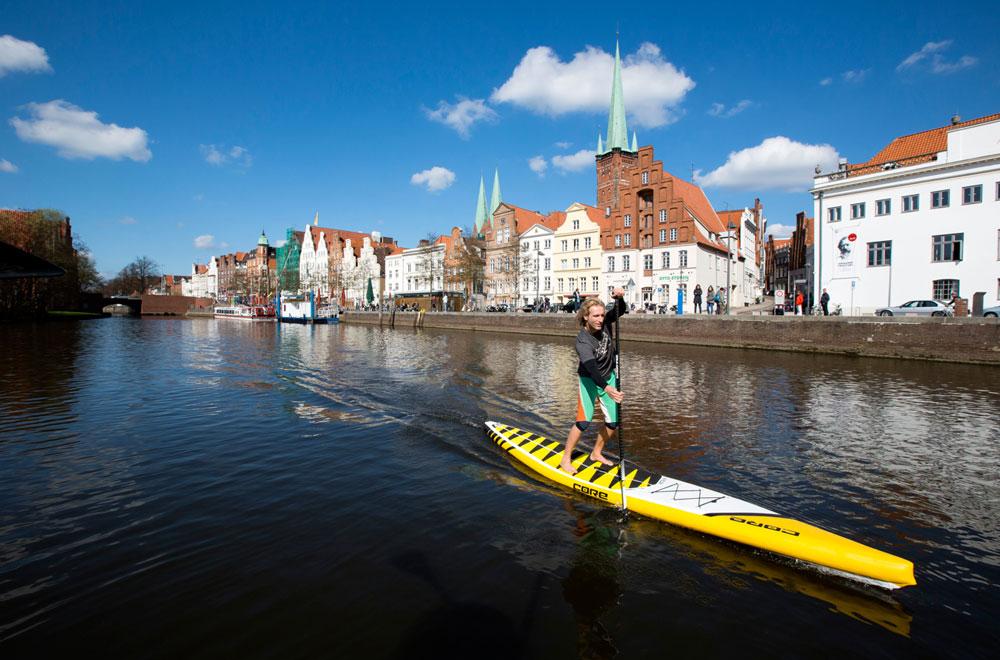 SUP Cityguide Lübeck – Spotreport