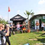 Chuck Patterson besucht SUP Center St. Leoner See