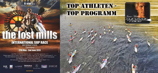 The Lostmills SUP-Race Countdown