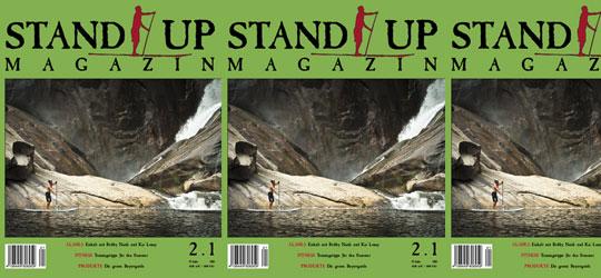 Die 3. Ausgabe des Stand Up Magazins ist hier