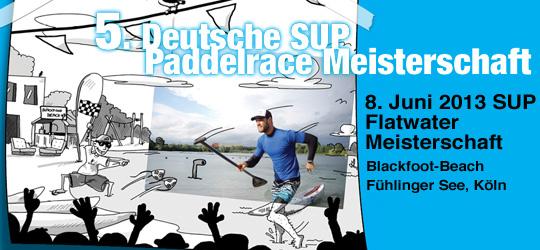 Deustche SUP Flatwater Paddelrace Meisterschaft 2013