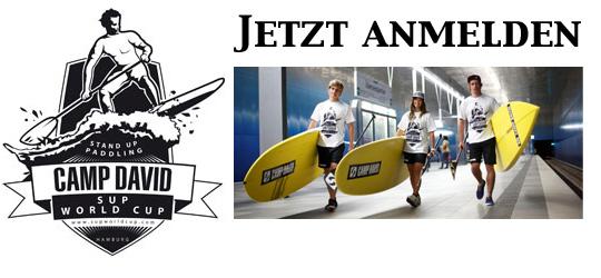 CAMP DAVID SUP World Cup Hamburg 2013 – Jetzt Anmelden