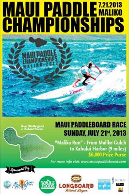 Maui Paddleboard Championships 2013