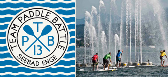 Stand Up Paddle Event im Seebad Enge Zürich