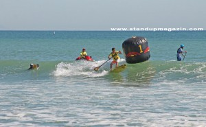 Kai Lenny takes the buoy with grace