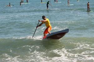 Training in den Wellen