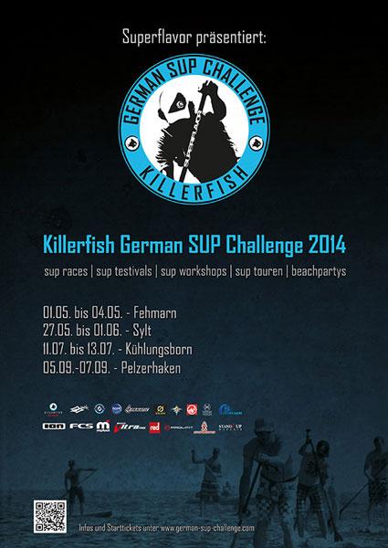 Killerfish German SUP Challenge beim Rollei Surf & SUP Opening