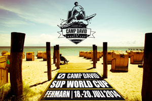 CAMP DAVID SUP World Cup verlost Startplätze