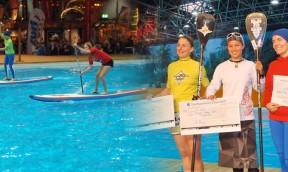 Noelani Sach und Normen Weber – Deutsche SUP Indoor Meister