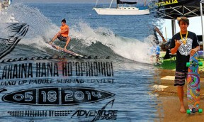 Lahaina Harbor Stand Up Paddle Surfing Contest