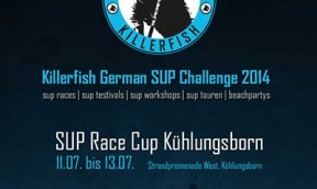 Killerfish German SUP Challenge 2014 – SUP Race Cup Kühlungsborn