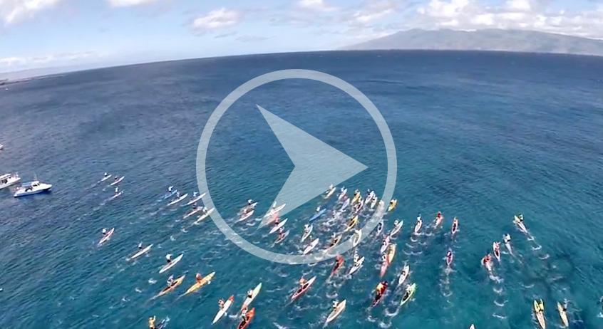 Ocean Racing aus der Luft