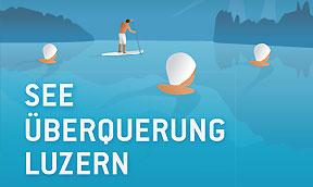 See Überquerung Luzern 2014