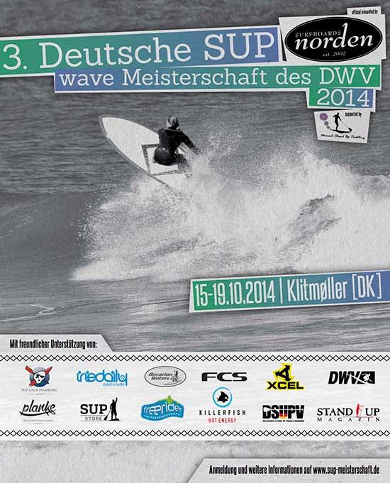 3. Deutsche SUP Wave Meisterschaft dieses Wochenende