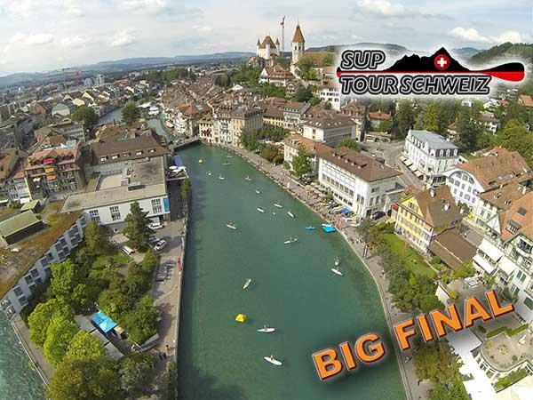SUP Finale der SUP Tour Schweiz