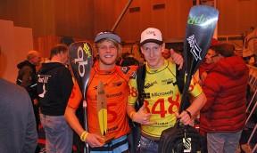 Ole Schwarz im SUP Race Team bei Naish