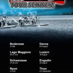 SUP Tour Schweiz es geht los