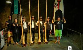 Bat Race Alpine Lakes Tour SUP Rennen im Untergrund