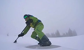Snow SUP oder was man mit Inflatables sonst noch anfangen kann