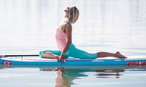 SUP Yoga mit Gillian Gibree #2
