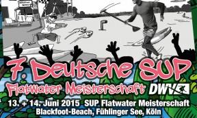 Deutsche SUP Flatwater Meisterschaft des DWV 2015