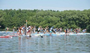 Lost Mills International SUP Race 2015