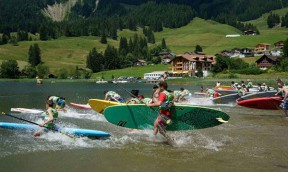 Side Cut SUP Race Schwarzsee 2015