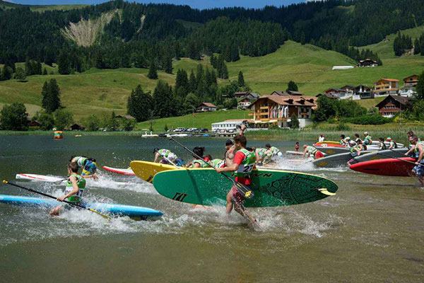 Dritte SUP Tour Schweiz Bald gehts los