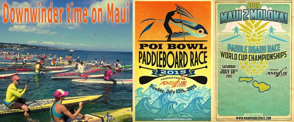 Downwinder Races in Hawaii
