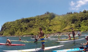 Poi Bowl SUP Race on Maui