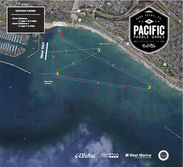 Pacific-Paddle-Games-Distance-Course