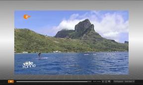 Ironmana auf Bora Bora mit Alexander Stertzik im ZDF