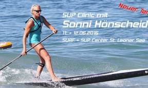 SUP Clinic mit Sonni
