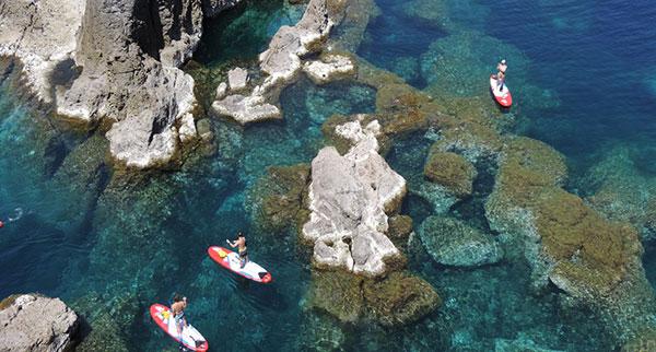 SUP-im-Mittelmeer