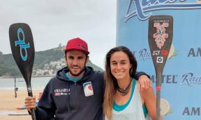 San Sebastian SUP Rennen EURO Tour Resultate