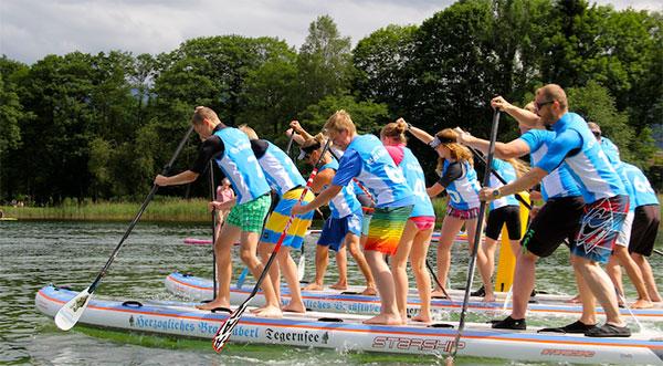 SUP-Team-Rennen