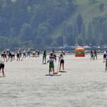 SUP Tour Schweiz Luzern Seeüberquerung