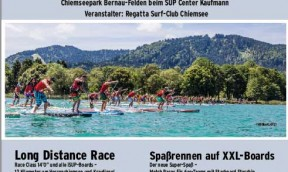 SUP Chiemsee Insel-Marathon  2016