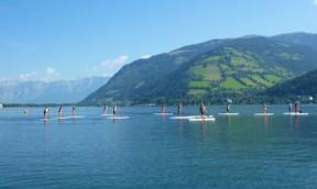 Österreichische SUP Meisterschaft beim Zeller See SUP Crossing