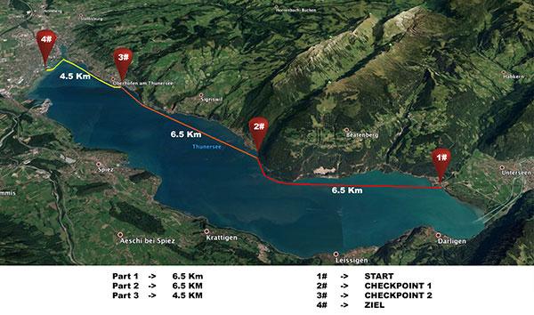 Thurersee-SUP-Rennen