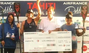 Sonni gewinnt Air France Paddle Festival