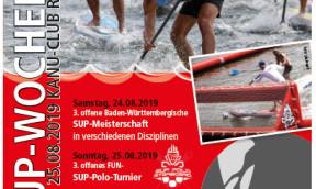 Dritte offene SUP-Meisterschaft von Baden-Württemberg
