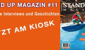 Stand Up Magazin Neue Ausgabe