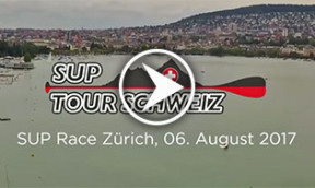 SUP Tour Schweiz in Zürich Das Video