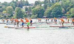 5. Bayerische SUP Meisterschaft am Pilsensee