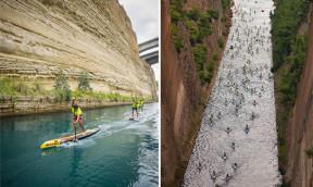 Korinth Kanal SUP Crossing 2017