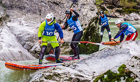 Wildwasser SUP DM und Eurocup in Lofer
