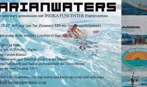 SUP Camp auf Fuerteventura mit BavarianWaters