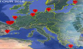 EURO TOUR 2018